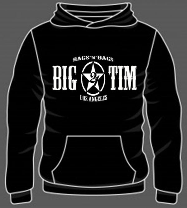 Hoodie BT21 Front Black