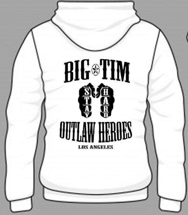 Hoodie Outlaw Back