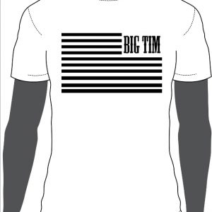 BT Flag Shirt White