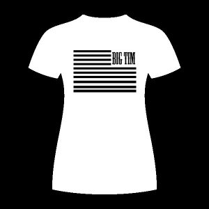 Womens Flag Shirt White