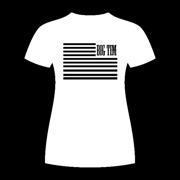 Womens Flag Shirt White